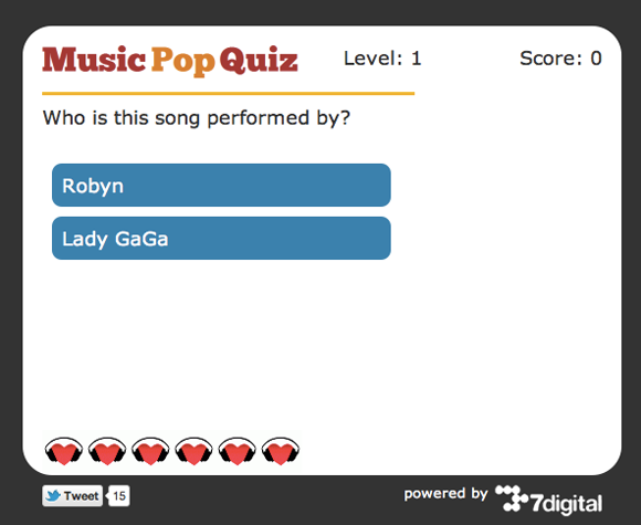 online guess the song game