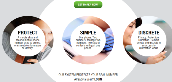 myaka 1   MyAKA: Add A Second Alias Number To Hide Your Real Mobile Number