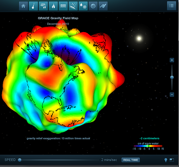 Experience Space Exploration In 3D At NASA Visualizations nasa3d9b