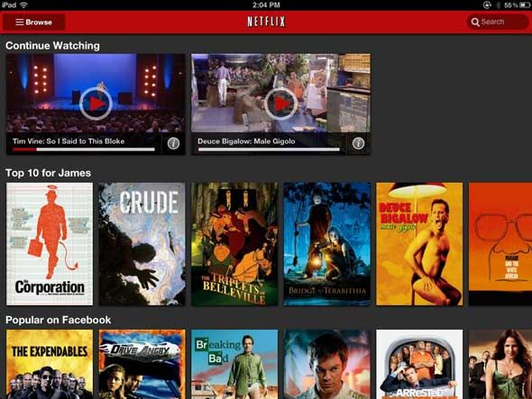 netflix vs lovefilm uk