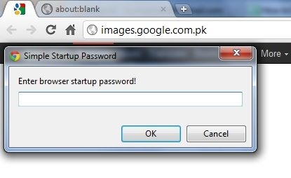 password on chrome browser