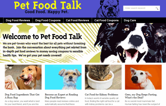 pet food reviews