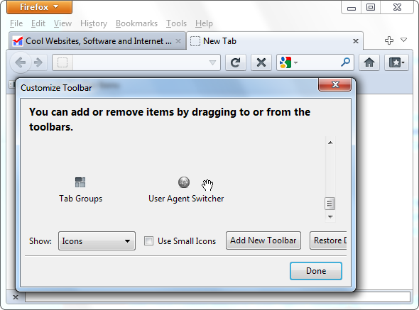 Impersonate Other Browsers With User Agent Switcher [Firefox]