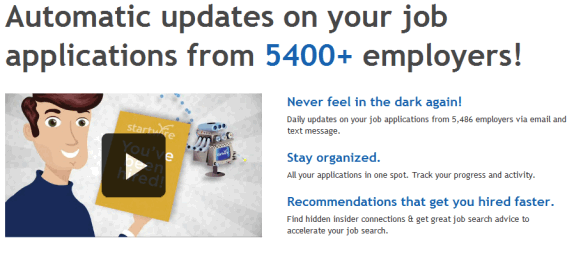 organize your job search