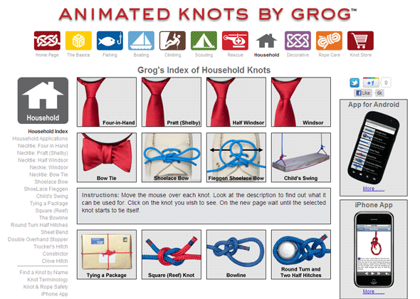 tie the perfect knot