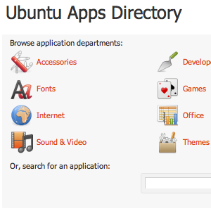 Browse Ubuntu's Software Offerings Online On Any Computer [Linux]