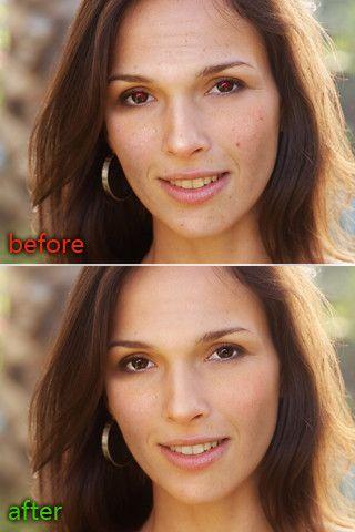 automatically enhance photos