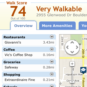 Discover Where You Can Walk To From Any Potential Home With WalkScore.com