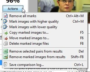 Image Comparer: Organize Your Photo Collection By Detecting & Removing Duplicates (10 Free Licences Giveaway) Actions