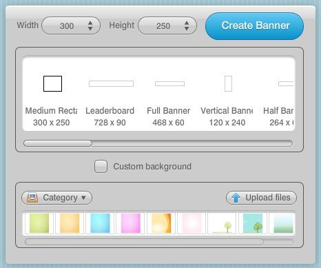 create flash banners