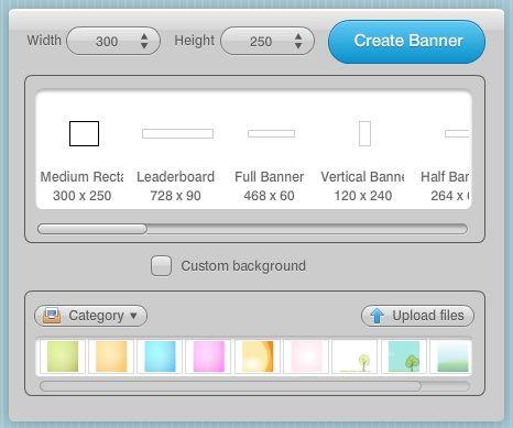 create flash banners