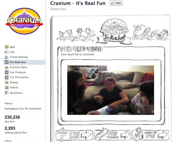 5 Great Ideas to Make Your Facebook Fan Page Interesting Cranium