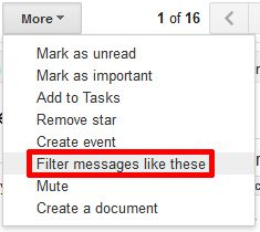 gmail features list