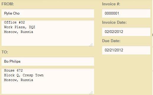 create invoices online