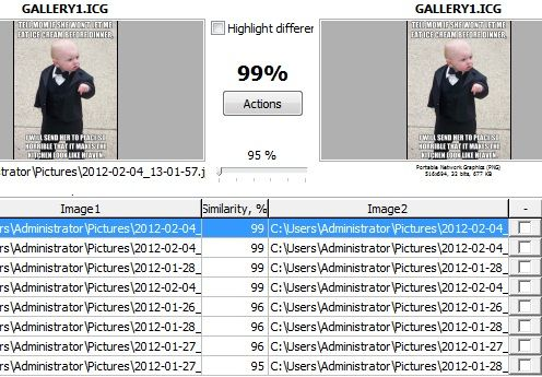 Image Comparer: Organize Your Photo Collection By Detecting & Removing Duplicates (10 Free Licences Giveaway) Gallery