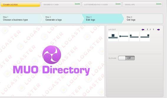 create professional looking logos