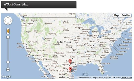 Outletnote: Find Detailed Information About Outlet Stores In The US Map