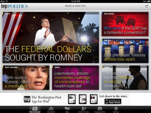 Post Politics   Post Politics: Washington Posts Politics App [iPad]