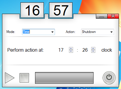 automatically shutdown computer