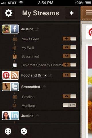 stream social networks