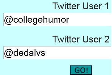 User   TweetsBetween: Read The Recent Twitter Conversations Between Two Users