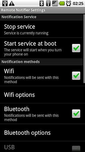 android notifications on computer