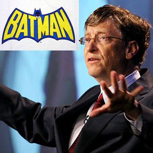 Is Bill Gates Better Than Batman? [INFOGRAPHIC]