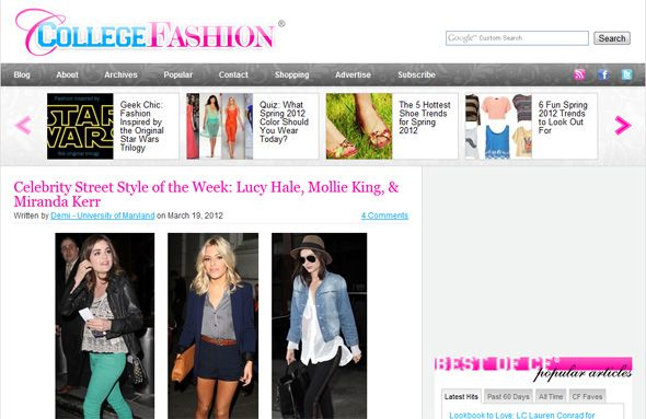 top fashion blogs