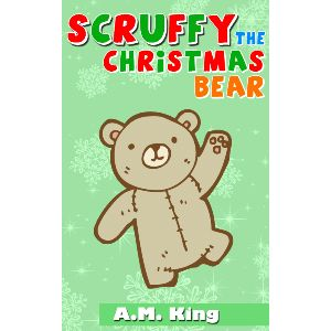 Scruffy the Christmas Bear. Awwwww!
