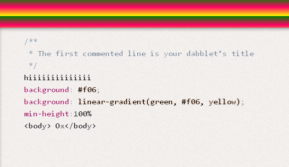 testing css html