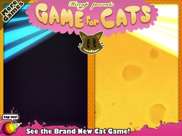 Cat Video Games for the iPad