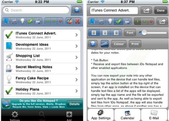 iphone journal app