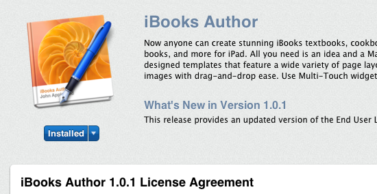 Apples Updates Its iBooks Author License Agreement [News] ibooks agreement