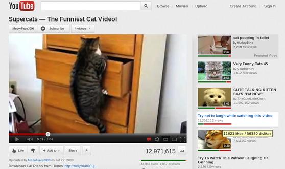 like count youtube