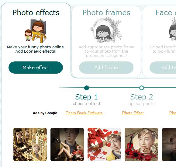 effects frames photos