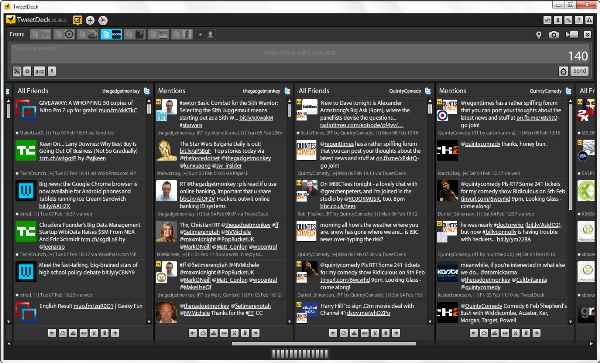 switch to old tweetdeck