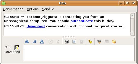 encrypt conversations