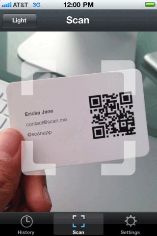 scanme2   Scan: Simple QR & Bar Code Scanning [iOS & Android]