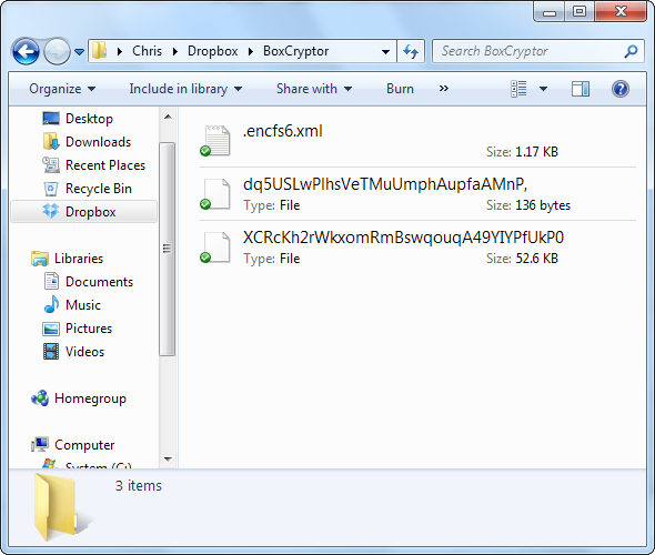 Encrypt Your Dropbox Files With BoxCryptor screenshot 053
