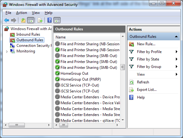 Windows 7 Firewall: How It Compares Against Other Firewalls screenshot 076