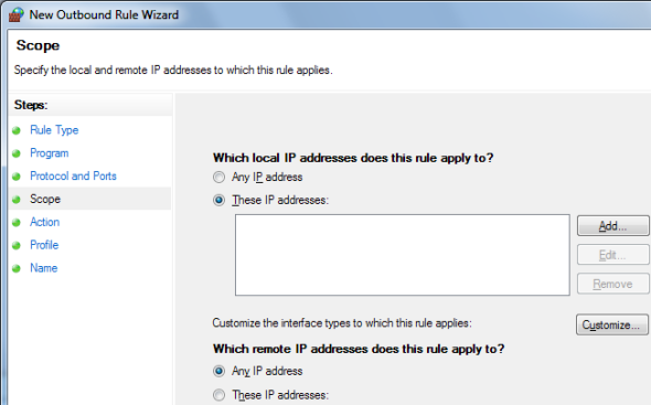 Windows 7 Firewall: How It Compares Against Other Firewalls screenshot 085