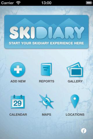 diary skier