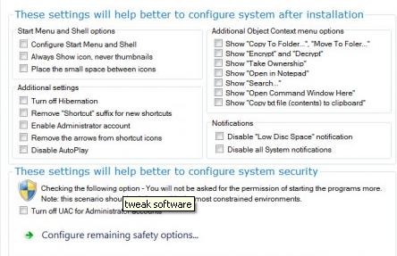 cool tweaks to windows 7