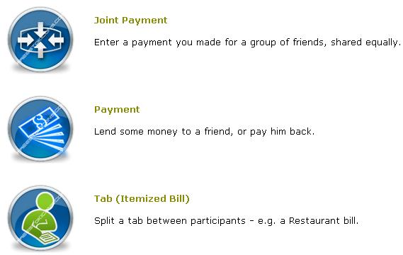 split bills with friends