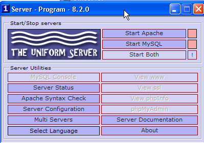 set up a web server