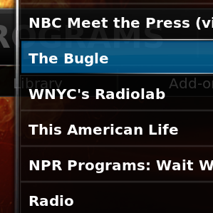 How To Add Your Podcast Feeds To Your XBMC Media Center