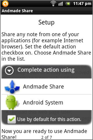 Andmade Share Improves The Way You Share & Gives You Multiple Sharing Options [Android 2.1+] Andmade01