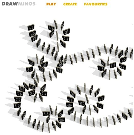 Drawminos: Virtually Create & Play Falling Domino Game Online