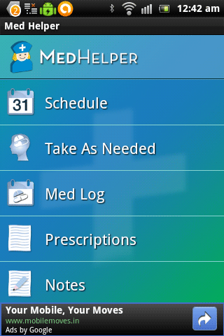 android medicine applications
