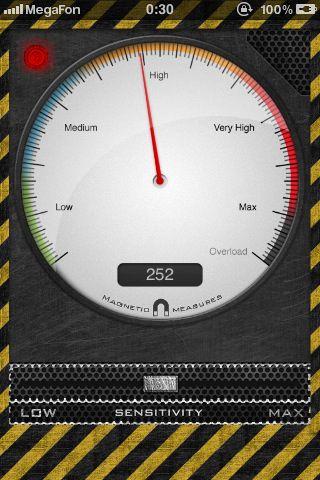 MetalDetector   Metal Detector: Easily Detect Metal Objects Using Your iPhone